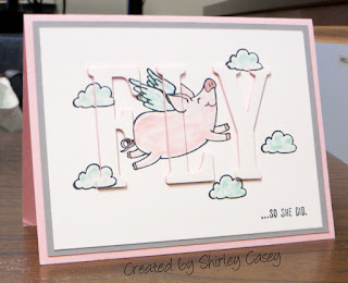 Stampin' Up! This Little Piggy Eclipse Card by Shirley Casey