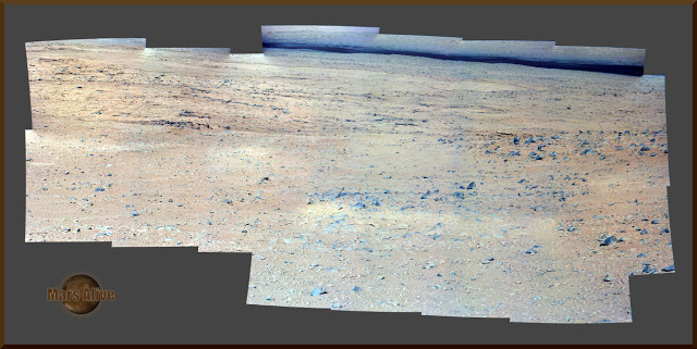 Sol 48-49 Curiosity Left Mastcam (M-34) Journey to Glenelg