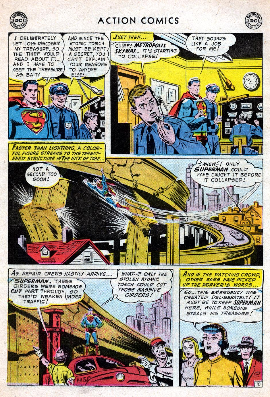 Read online Action Comics (1938) comic -  Issue #219 - 12
