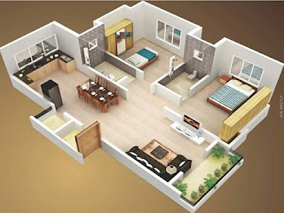, interior rumah mungil, biaya jasa desain interior rumah, desain interior rumah type 36, harga jasa desain rumah 3d