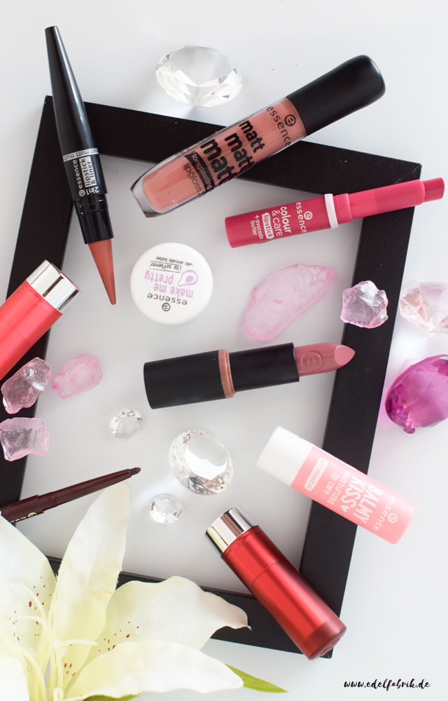 essence, range update for autumn / Winter 2016, lips products