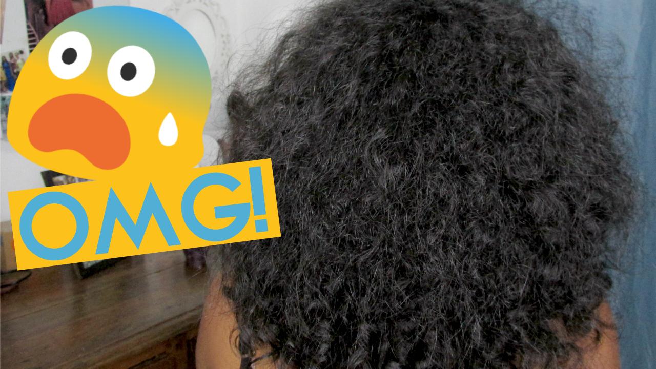 Como meu cabelo fica sem finalizar, natália sena, cabelo sem finalização