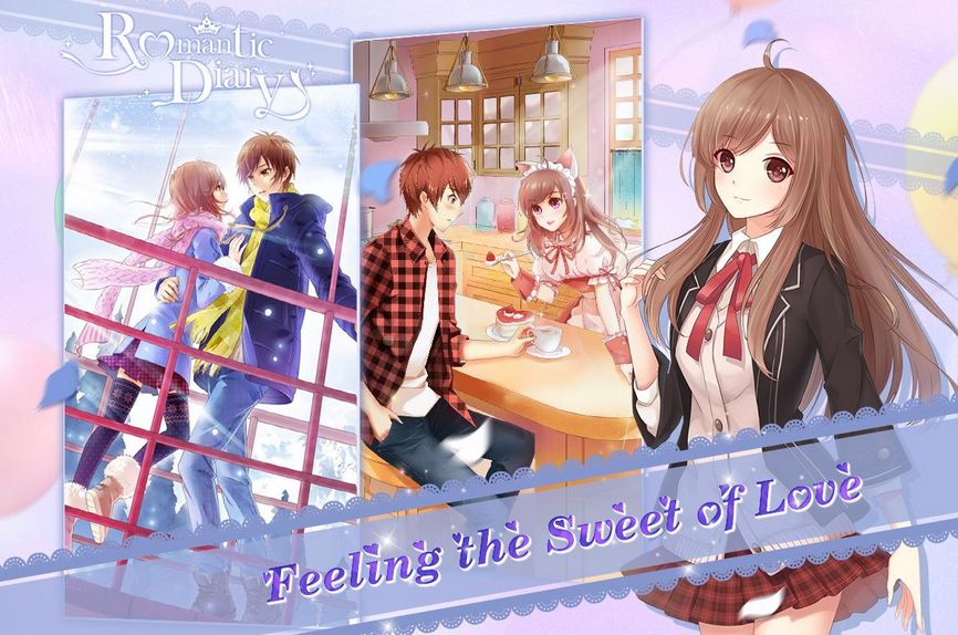 Romantic Diary: Anime Dress Up V1.6.1 MOD APK + Cheats