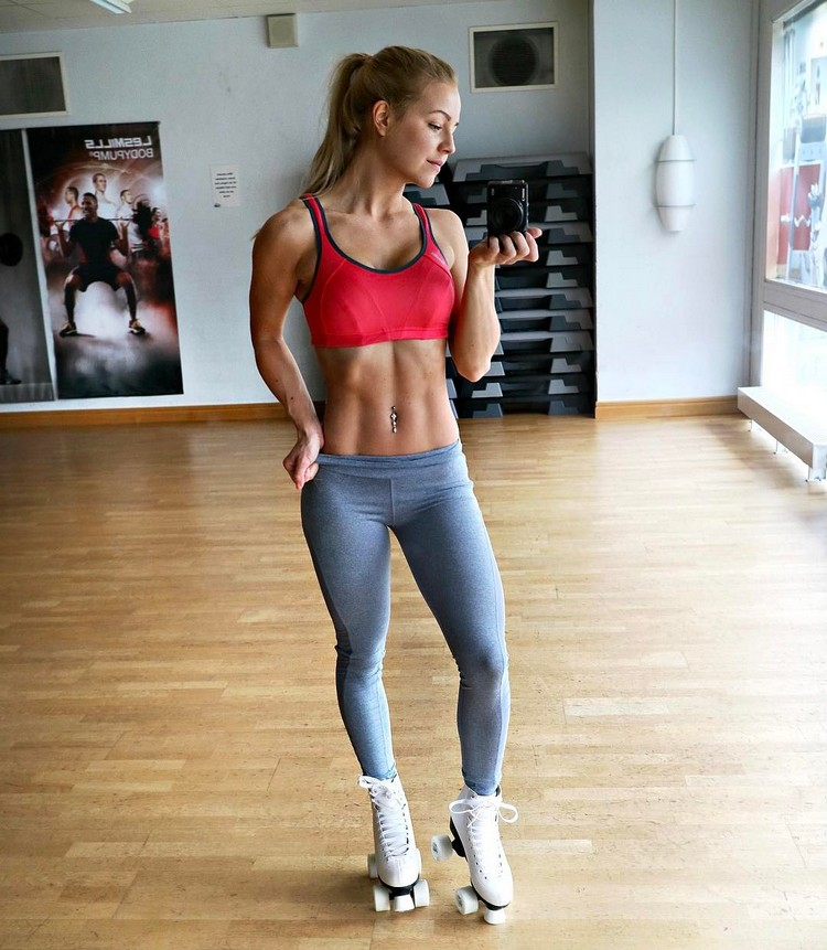 Swedish Fitness Model Denice Moberg 2