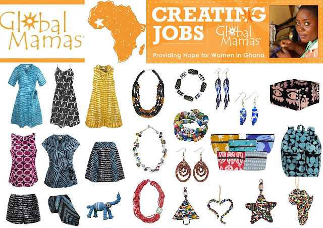 global mamas, volunteer project, textiles volunteer, jewellery making, fairtrade products, fairtrade business, ethical fashion, ghana