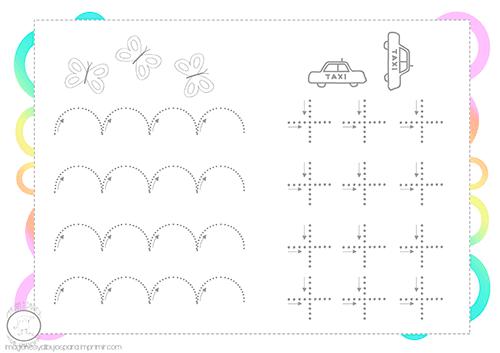 Ejercicios De Grafomotricidad Para Ninos De 3 Anos Imagenes Y