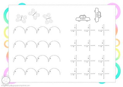 fichas grafomotricidad 3 años pdf