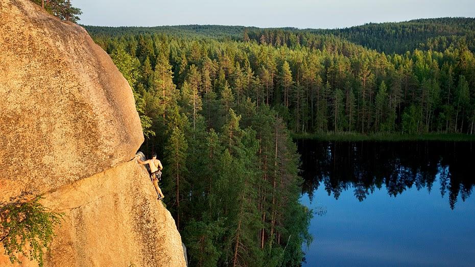 finland summer nature park national helsinki brief nuuksio