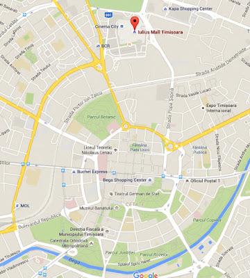 temisvar mapa Kao na dlanu : Temišvar temisvar mapa