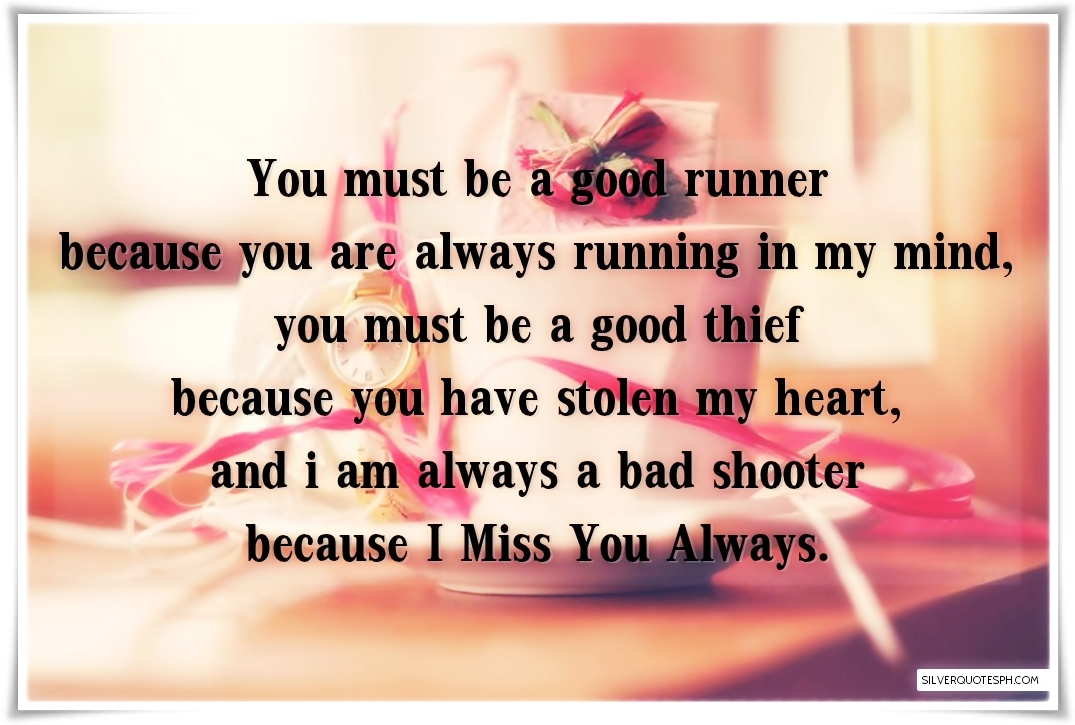 I Miss You Always Silver Quotes