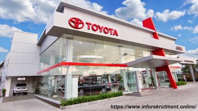 Lowongan Kerja PT. Toyota Astra Motor 2018