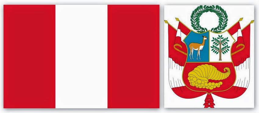 Флаг и герб Перу
