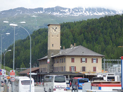 Bernina Express - St Moritz