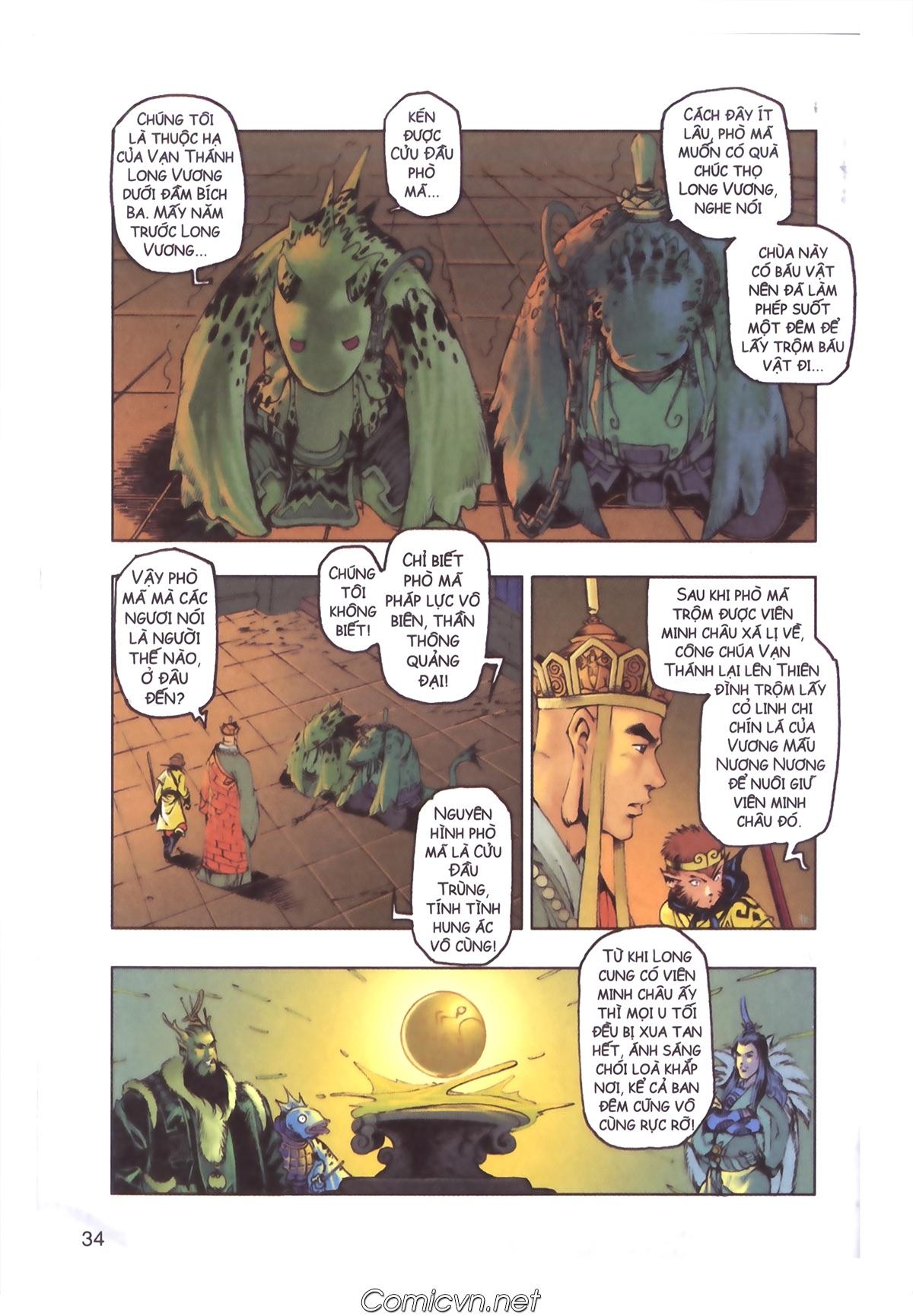 Tây Du Ký màu - Chapter 110 - Pic 32