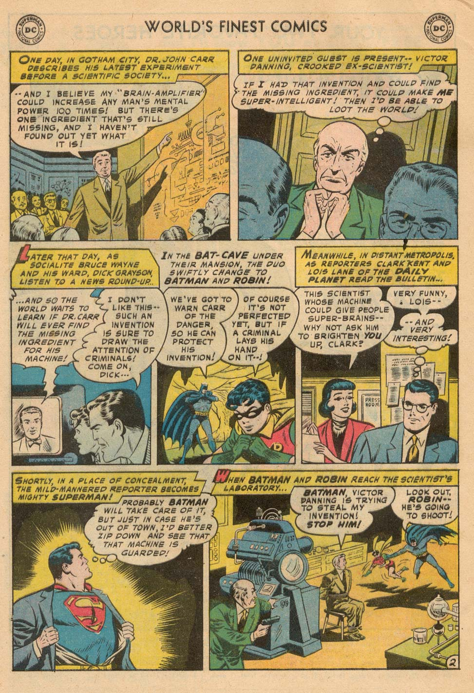 Read online World's Finest Comics comic -  Issue #93 - 4