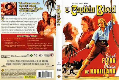 El capitán Blood | 1935 | Captain Blood | DvD Cover