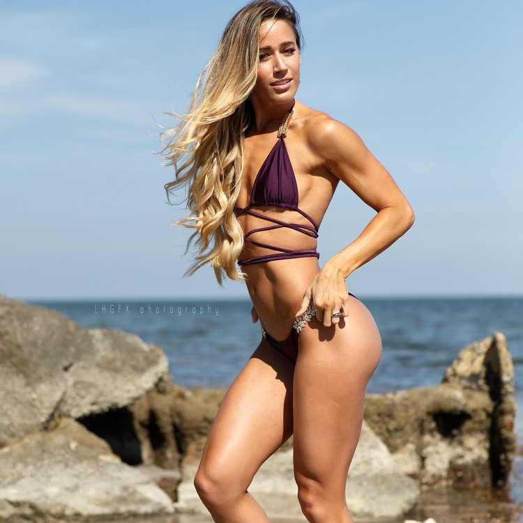 Valentina Lequeux fitness coach and model who hails from Argentina,
