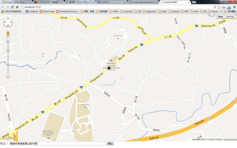 Follow Fang!: Google Maps API 自定義標記圖示