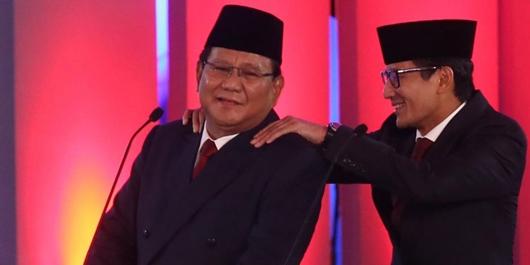 Prabowo Perkasa di Sumatera, Terjungkal di Jabar-Banten-DKI