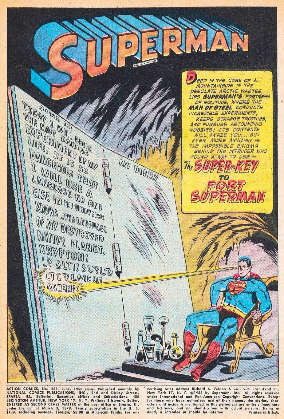 Action Comics (1938) 241 Page 2
