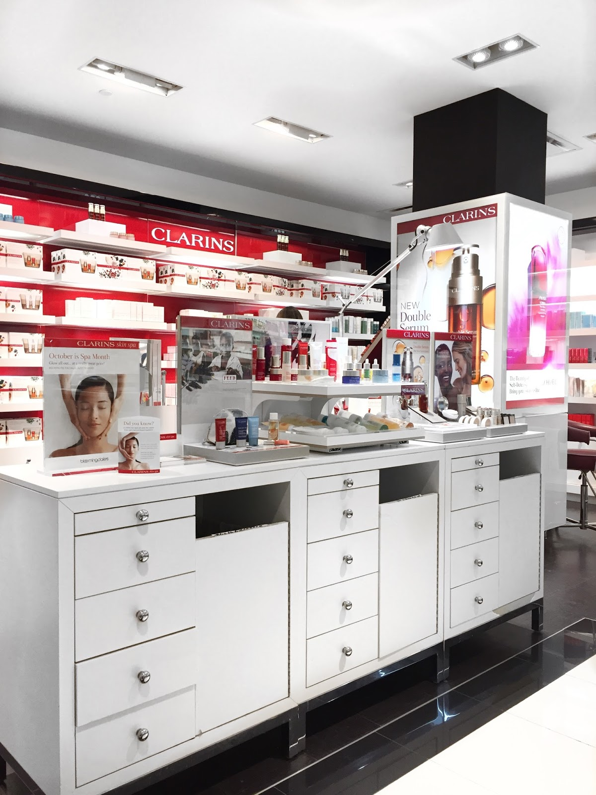 A Couple Of Weeks Ago I Was Invited To Experience The New Clarins Skin Spa  In Bloomingdaleu0027s At Short Hills Mall Here In New Jersey.