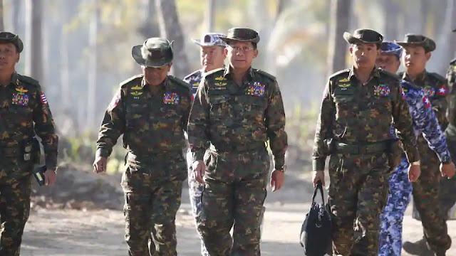 PBB Minta Panglima dan 5 Jenderal Myanmar Dituntut Kejahatan Genosida