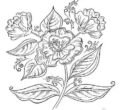 Imagini Cu Buchete Si Coronite De Flori De Colorat Fise