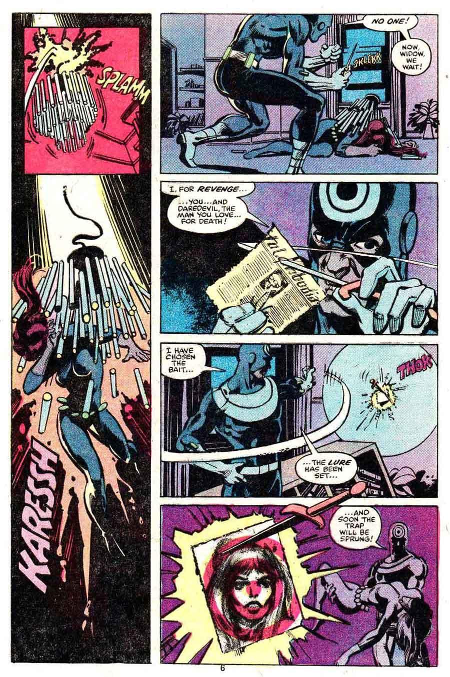 Daredevil v1 #160 marvel comic book page art by Frank Miller