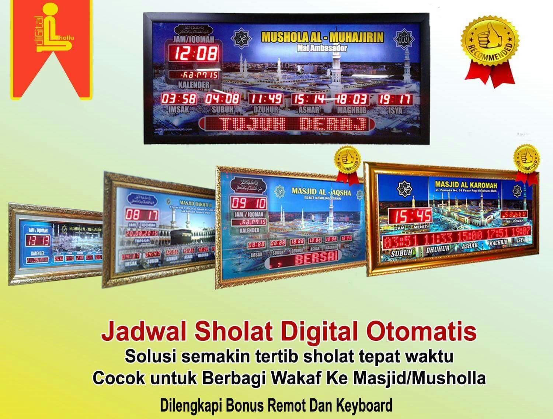 Alamat Dan Nomor Telepon Toko Jam Jadwal Sholat Digital Masjid Di Padang ab85497477