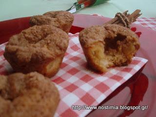 Υπέροχα μάφινς μήλου - Delicious apple muffins