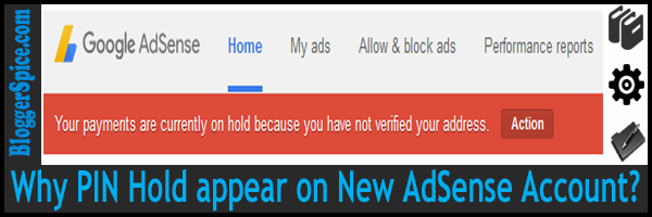PIN hold on AdSense
