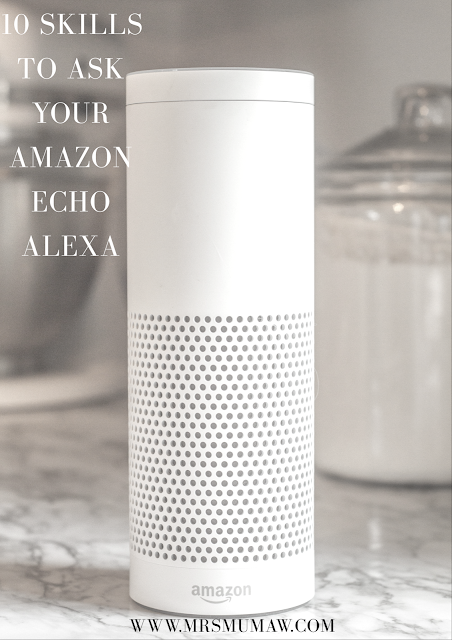 amazon echo, skills for alexa, amazon echo for the family, alexa skills