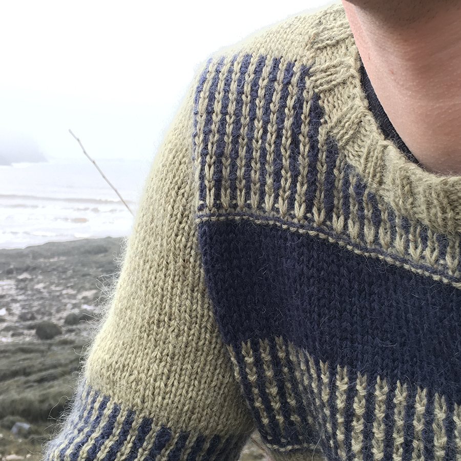 Ariel by Carlo Volpi in Rowan Kid Classic from Rowan Magazine 60, knit by Dayana Knits