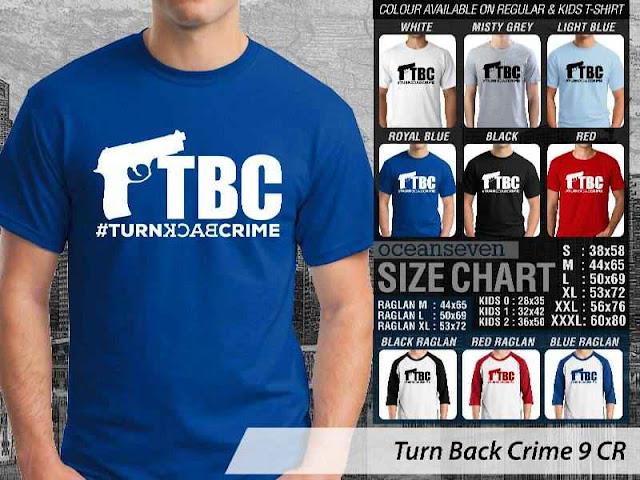 Turn Back Crime 9 CR