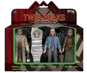 "Twin Peaks 3.75"" Action Figure Box Set by Funko"
