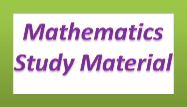 10th class Mathematics Study Material for slow  learners (www.naabadi.org)