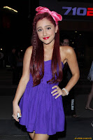 Ariana Grande At The Nokia Theater in Los Angeles