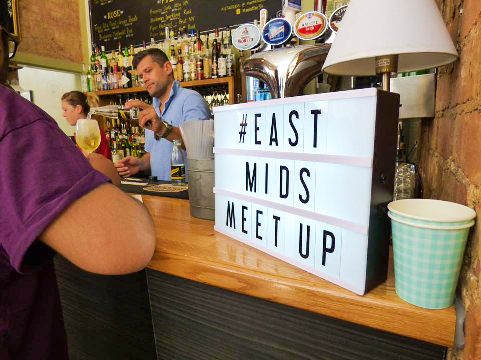 #EastMidsMeetUp Leicester