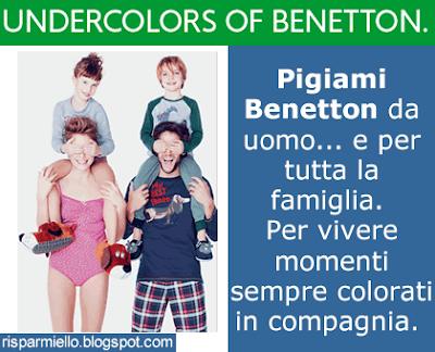 molto carino f8de6 e869d Risparmiello: Pigiami Benetton da uomo Undercolors