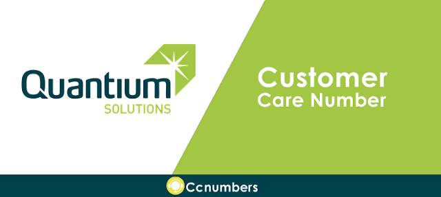 Quantium Solutions Customer Care Number
