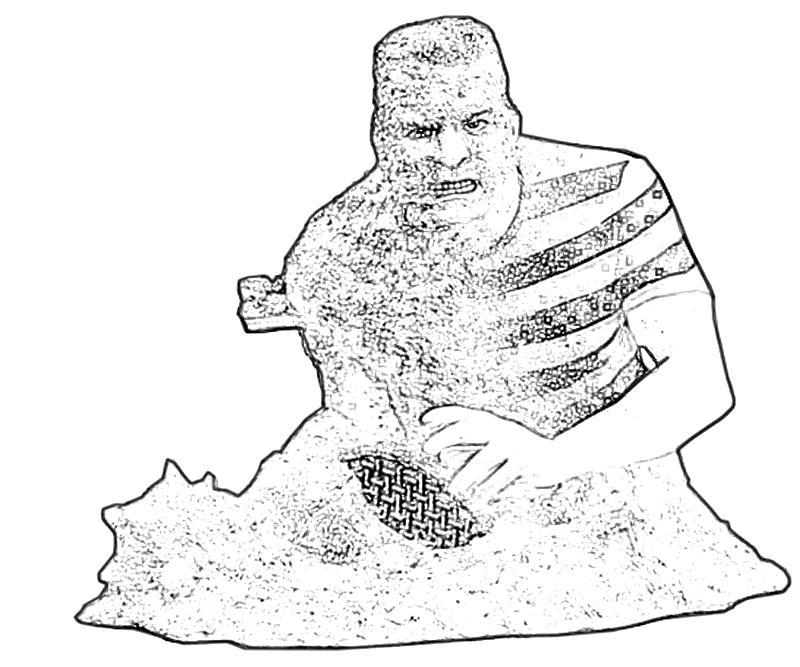Superior Printable Sandman Sand Coloring Pages