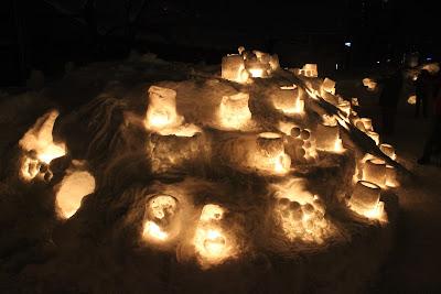 Day 18: Sapporo and Otaru Snow Light Path Festival