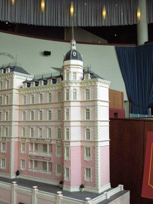 Grand Budapest Hotel movie model detail