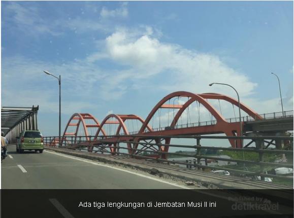 Jembatan Musi 2 Palembang Yang Tak Kalah Keren Dengan Jembatan Ampera