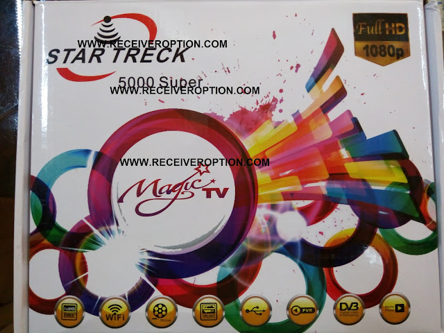 STAR TRECK 5000 SUPER HD RECEIVER POWERVU KEY SOFTWARE
