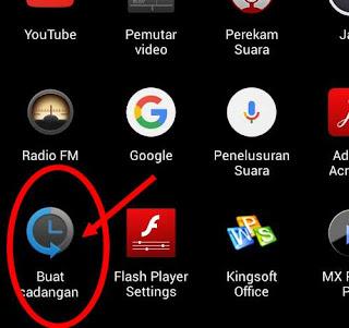 aplikasi cadangkan data telpon android