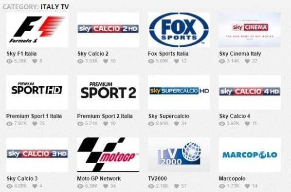 Live TV Streaming o WikiBox.eu; possibilità di streaming di Canali TV, Sport e Calcio in diretta live streaming da tutto il mondo.