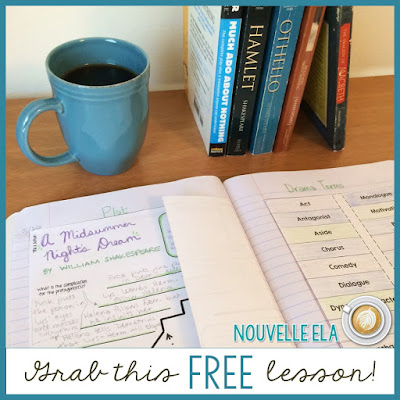 Using Drama in the ELA Classroom: Great tips, resources, and freebies on the Secondary English Coffee Shop blog.