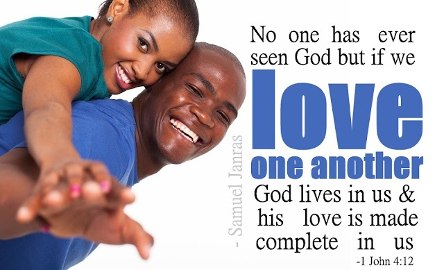 Love One Another Valentine Bible Verse