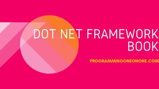 Download Dot Net framework pdf book for free